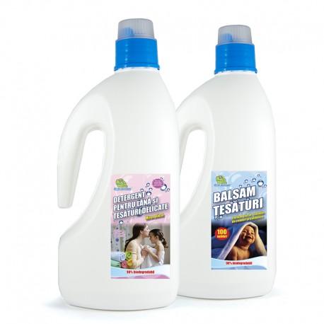 Detergent perdele + Balsam
