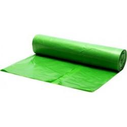 Saci menajeri culoare verde, colectare selectiva 60L